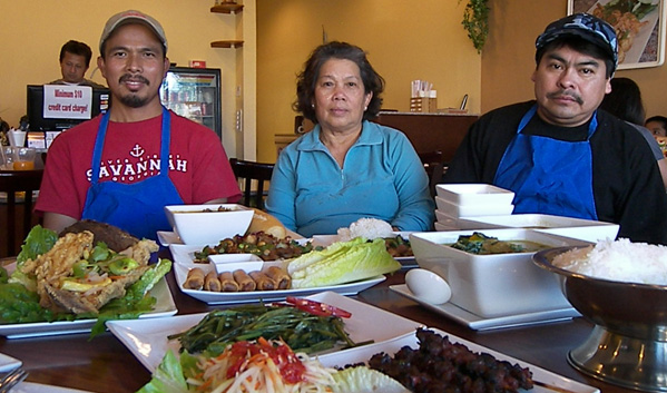 Master Chefs of Monorom Cambodian Restaurant in Long Beach